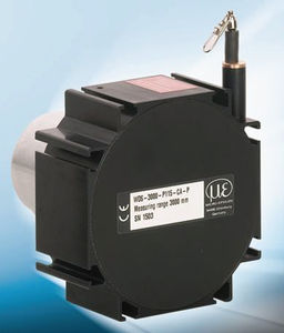 capteur de position linéaire / à potentiomètre / à grande distance de détection / haute précision