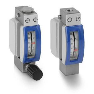 débitmètre à flotteur / pour gaz / à tube métallique / en ligne