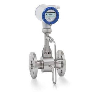 débitmètre à vortex / pour liquides / pour eau / pour produits chimiques