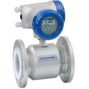 débitmètre électromagnétique / pour boue / pour eau / pour produits chimiques