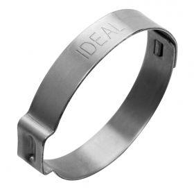 collier de serrage en acier inoxydable / à oreille ajustable / soudé