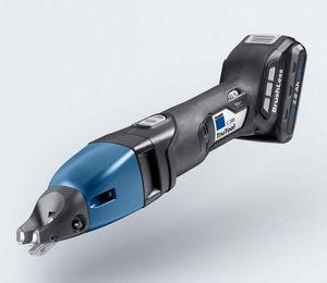 cisaille électrique / pour barre en acier / coupe-feuillard / sur batterie