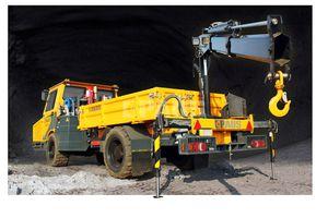 véhicule diesel / multifonction / souterrain