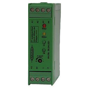 contrôleur moteur DC / pour moteur synchrone / avec régulateur de vitesse / à montage sur rail DIN