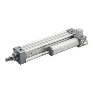vérin pneumatique / hydraulique / compact / ISO 15552
