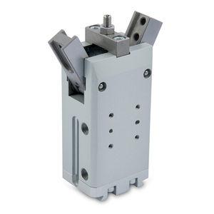 pince de préhension pneumatique / angulaire 180° / à 2 mâchoires / à force de serrage élevée