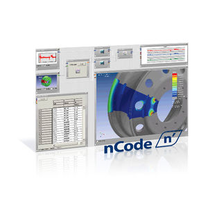 logiciel d'analyse de données / d'analyse de vibration / d'analyse de fatigue mécanique par éléments finis / de test