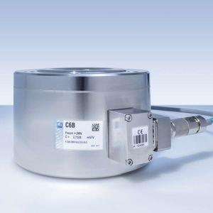 capteur de force en compression / canister / durci / par jauge de contrainte