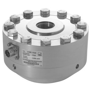 capteur de force en traction compression / à poutre plate / de précision / percé