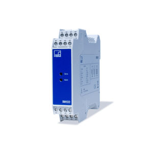 amplificateur de mesure / sur rail DIN / électronique / pour capteur à jauge de contrainte