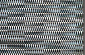 bande de convoyeur grillagée / en métal / industrielle / pour traitement thermique