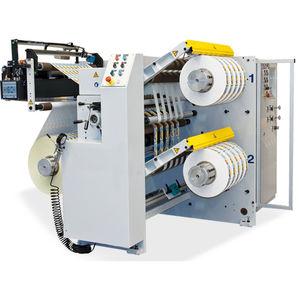 bobineuse refendeuse compacte / à usage polyvalent / pour film plastique / pour étiquettes