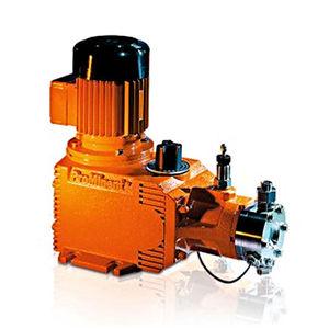 pompe hydraulique à membrane / à engrenage / avec moteur électrique / à huile