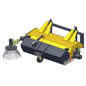 balayeuse pour véhicule porteur / hydraulique / compacte