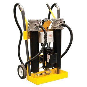 unité de filtration avec cartouche / hydraulique / mobile