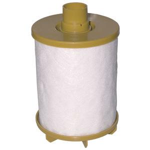 cartouche filtrante pour gaz / pour filtration fine / en plastique / à haut rendement