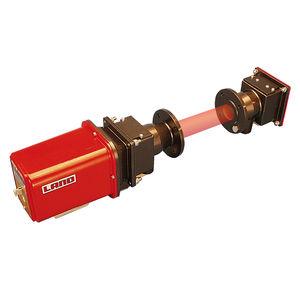 moniteur de concentration de poussières et d'opacité / d'émission de poussières / pour chaudière / de mesure