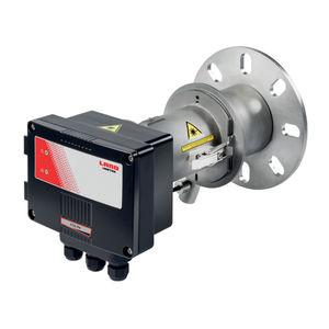 système de surveillance de concentration de poussières et d'opacité / de mesure / pour chaudière