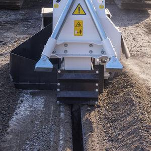 machine à scier circulaire / pour asphalte / hydraulique