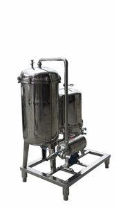 carter de filtre à cartouche / pour boisson / en acier / sanitaire