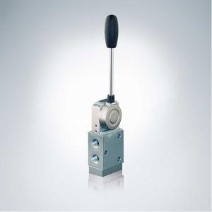 distributeur hydraulique à tiroir / avec actionnement manuel / à commande mécanique / actionné par solénoïde