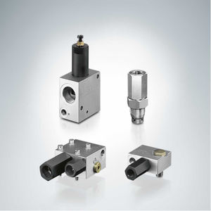 vanne d'équilibrage / à piston / à commande hydraulique / de régulation de pression