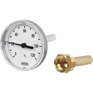 thermomètre bimétallique / analogique / à insertion / à cadran