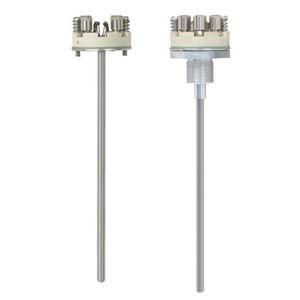 capteur de température à résistance / avec isolation minérale / antidéflagrant / à ressort