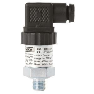 pressostat pour gaz / à piston / pour presse à injecter / pour applications hydrauliques