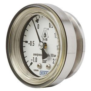 manomètre analogique / à membrane / de process / pour gaz