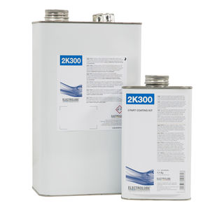 vernis de protection / bi-composant / en polyuréthane / à résistance chimique