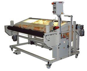 machine à visiter les tissus sans tension