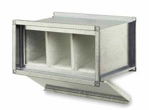 boitier de filtre à membrane / pour gaz / pour air / en acier