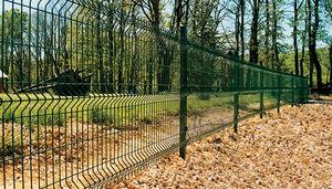 clôture soudée en panneau