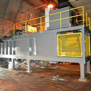 compacteur de déchets papier / à ferraille / stationnaire / pour station de transfert