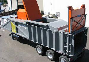 compacteur de déchets à ferraille / mobile / à chargement par le haut