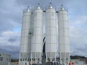 silo à fond conique