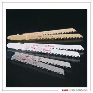 lame de scie sauteuse / HSS / pour métal