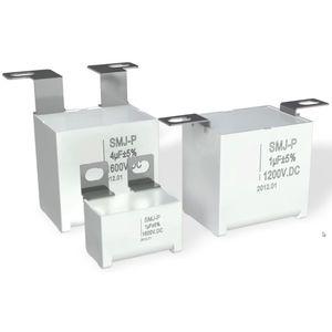 condensateur à film / radial / de circuit amortisseur / pour l'électronique