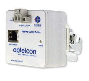 convertisseur de signal optoélectronique / transmetteur / pour fibre optique