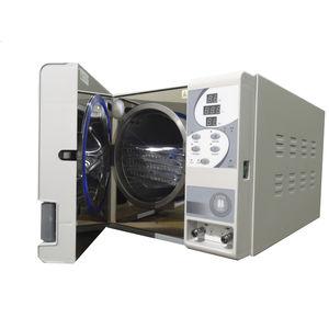 stérilisateur de laboratoire / à eau surchauffée / horizontal