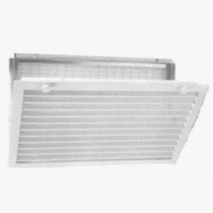 grille de ventilation en aluminium