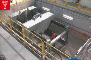 banc d'essai multiparamètres / pour vanne / horizontal / à double colonne
