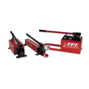 pompe hydraulique manuelle / compacte / à huile / haute pression