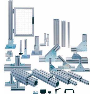 système de profilé en aluminium