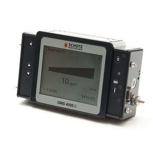 détecteur de monoxyde de carbone / de gaz combustible / d'oxygène / de méthane