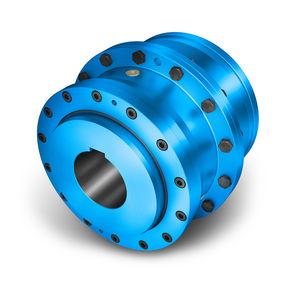 accouplement rigide en torsion / à engrenage / pour pompe / pour concasseur