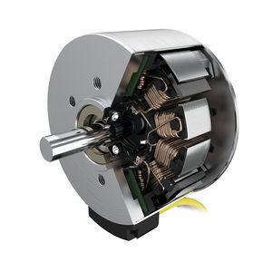 moteur électrique plat