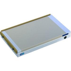 plateau magnétique à aimants permanents / rectangulaire / pour rectification / pour fraisage