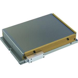 plateau magnétique électropermanent / rectangulaire / pour rectification / pour fraisage